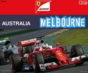 puzzel S.Vettel G.P Australië 2016