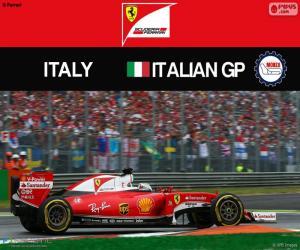 puzzel S.Vettel, G.P Italië 2016