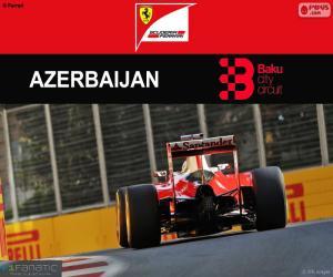 puzzel S.Vettel, Grand Prix van Europa 2016