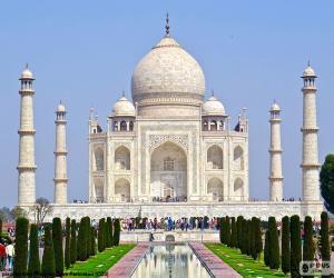 puzzel Taj Mahal, India