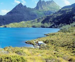 puzzel Tasmaanse wildernis, Australië