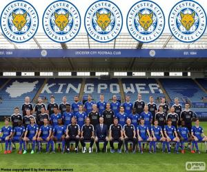 puzzel Team van Leicester City 2015-16