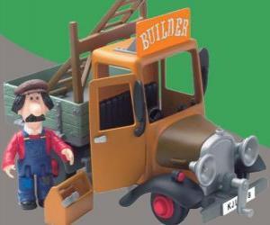 puzzel Ted Glen is de klusjesman van het dorp Greendale