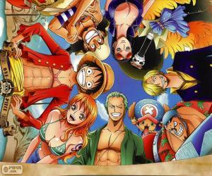 puzzel Tekens uit One Piece