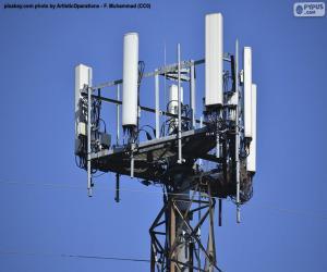 puzzel Telecommunicatietoren 5g