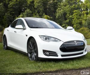 puzzel Tesla Model S
