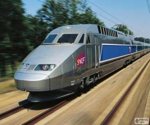 puzzel TGV, Frankrijk