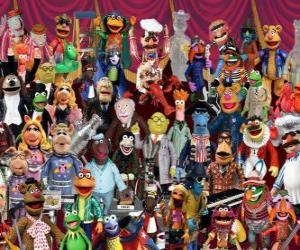puzzel The Muppets