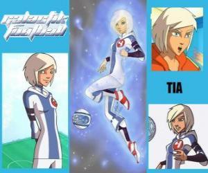 puzzel TIA is de speler nummer 4 van de Snow Kids team, is het enige team dat in eerste instantie heeft de geest