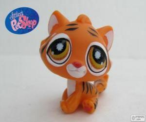 puzzel Tijger van de kleinste PetShop