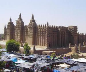 puzzel Timboektoe, Mali