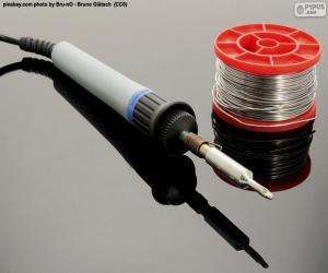 puzzel Tin elektrische soldeerbout