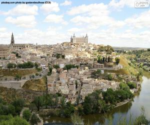 puzzel Toledo, Spanje