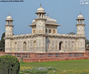 puzzel Tombe van Itimad ud-Daulah, India