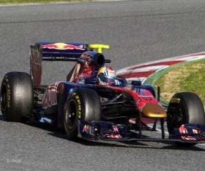 puzzel Toro Rosso STR6 - 2011 -
