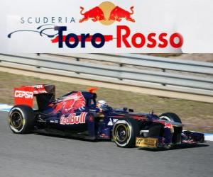 puzzel Toro Rosso STR7 - 2012 -