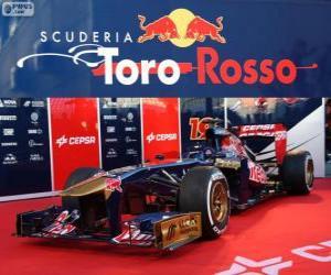 puzzel Toro Rosso STR8 - 2013 -