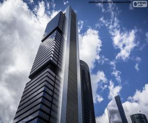 puzzel Torre Cepsa, Madrid