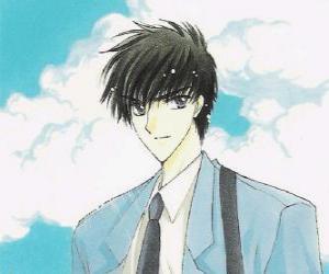 puzzel Toya Kinomoto is Sakura oudere broer