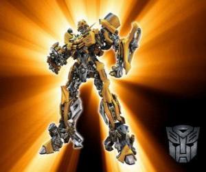 puzzel Transformers Bumblebee, de Autobots