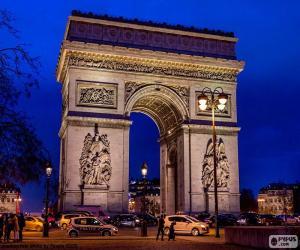 puzzel Triomfboog, Parijs
