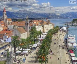 puzzel Trogir, Kroatië
