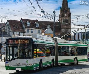 puzzel Trolleybus