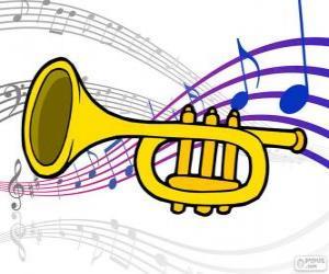 puzzel Trompet