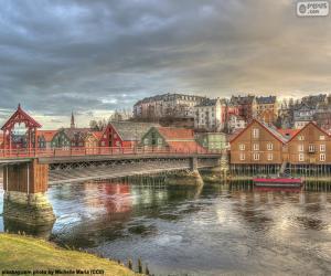 puzzel Trondheim, Noorwegen