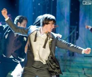 puzzel Troy Bolton dansen