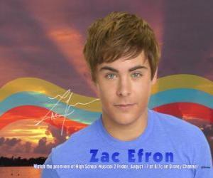 puzzel Troy Bolton (Zac Efron)