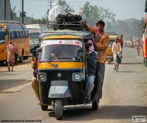 puzzel Tuktuk