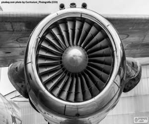 puzzel Turbine vliegtuigen