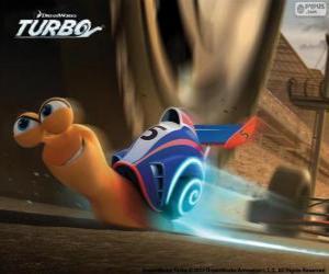 puzzel Turbo, de snelste slak van de wereld