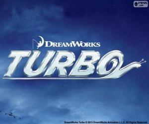 puzzel Turbo, het logo van de film