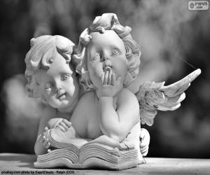 puzzel Twee engelen van liefde