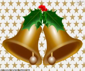 puzzel Twee kerst bells
