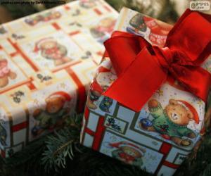 puzzel Twee Kerstcadeaus