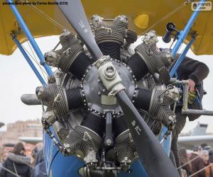 puzzel Tweedekkermotor
