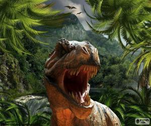 puzzel Tyrannosaurus Rex