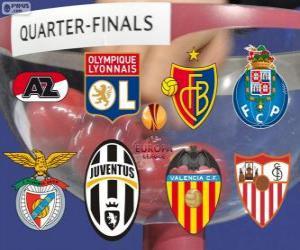 puzzel UEFA Europa League 2013-14 kwartfinales
