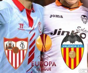 puzzel UEFA Europa League 2013-14 halve finale, Sevilla - Valencia