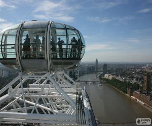 puzzel Uitzicht vanaf de London Eye
