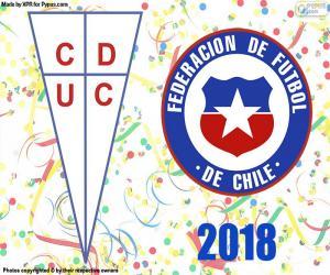puzzel Universidad Católica, kampioen 2018