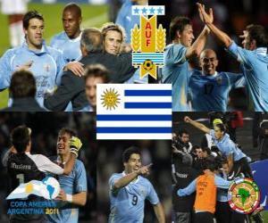 puzzel URU finalist, Copa America 2011