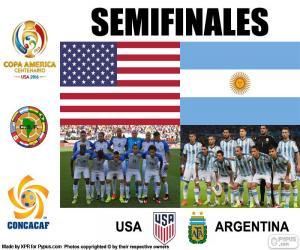 puzzel USA-ARG, Copa America 2016