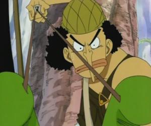 puzzel Usopp, schutter van de piraat bemanning en wapens deskundige