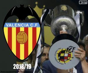 puzzel Valencia CF, Copa del Rey 2018-19