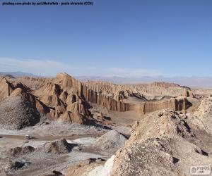puzzel Vallei van de maan, Chili