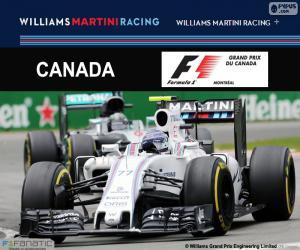 puzzel Valtteri Bottas, Grand Prix van Canada 2016